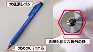 鉛筆シャープタイプS特徴